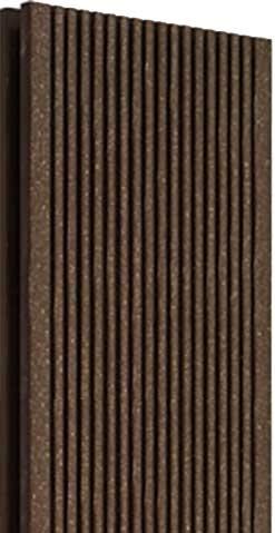 Террасная доска Wood Pro M, цвет коричневый